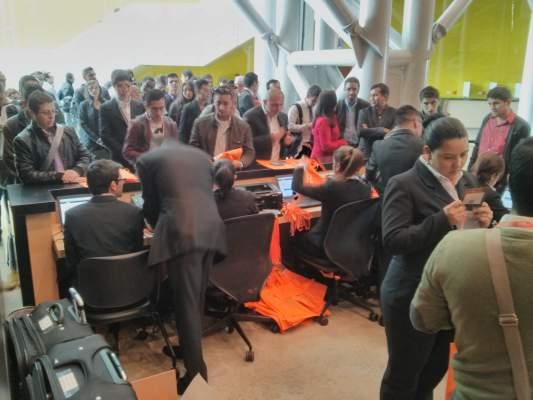 Entrada e identificación en la ElastixWorld 2015