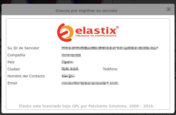 Una vez registrado, tendremos un ID de Servidor que es necesario para poder adquirir la licencia personal para ese servidor.